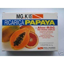 MG.K VIS RICARICA PAPAYA INTEGRATORE  12 BUSTINE