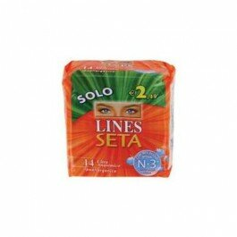LINES SETA ULTRA FLUSSO LEGGERO 14 PZ